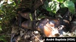 Corpos encontrados por camponeses perto da Gorongosa, em Sofala, Moçambique