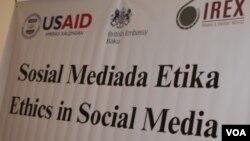 Sosial mediada etika konfransı