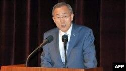 Ban Gi Mun: Beynəlxalq ictimaiyyət Suriyadakı zorakılıqlara daha ciddi cavab verməlidir