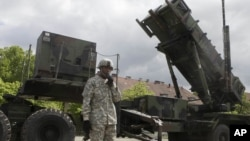 NATO's Patriot surface-to-air missiles