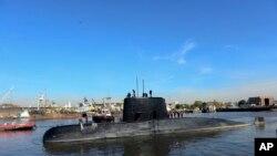 El submarino ARA San Juan envió su última señal el miércoles, informó la armada argentina.