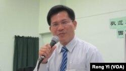 民进党立委林佳龙要邀请陈光诚到台湾立法院演说