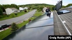 清潔能源之一的太陽能。