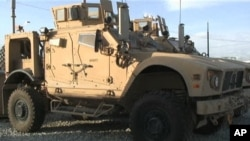 The U.S. Army's new M-ATV vehicle in Afghanistan