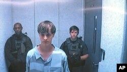 Dylann Roof pembunuh jemaat gereja di Charleston, S.C, 19 Juni 2015.