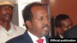 索馬里總統馬哈穆德 (資料照片)