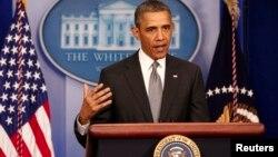 """El presidente Obama aseguró que lo de Boston fue un acto """"atroz y cobarde"""" que se investiga como terrorismo."""