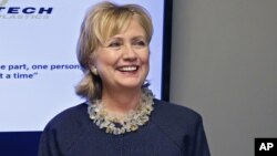 El nuevo libro de Hillary Clinton sale a la venta el próximo martes.