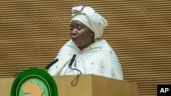 Shugabar Kungiyar Kungiyar Kasashen Afirka Ta AU, Nkosazana Dlamini Zuma