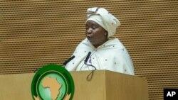 Mwenyekiti anayeondoka wa umoja wa Afrika Bi. Nkosazana Dlamini Zuma