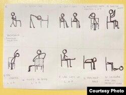 Pilihan pose yoga yang baik untuk penderita Alzheimer (dok: Vitri Rachmadiyanto)
