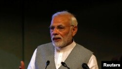 بھارتی وزیر اعظم نریندر مودی۔ فائل فوٹو