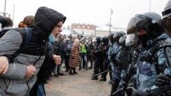 Sukob demonstranata i policije u Moskvi