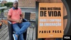 """Paulo Paca, autor do livro """"Uma história de vida: prós e contras da emigração"""""""