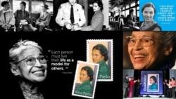 ျပည္သူ့အခြင့္အေရး လူမဲအမ်ိဳးသမီးေခါင္းေဆာင္ Rosa Parks