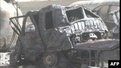 Pakistanda NATO-nun yanacaq tankeri bomba hücumuna məruz qalıb