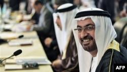 Ambasador Ujedinjenih Arapskih Emirata u Iraku, Abdula al-Šihi na samitu Arapske lige, 27. mart 2012.