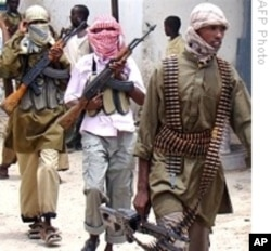 Hard-line Somali insurgents, al-Shabab