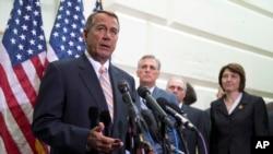 FILE - House Speaker John Boehner of Ohio.