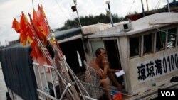 海南琼海市潭门镇渔民