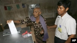 Cambodia is preparing for commune elections in 2012 and national elections the following year.