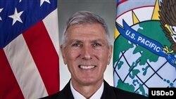 美国太平洋司令部指挥官、海军上将洛克利尔
