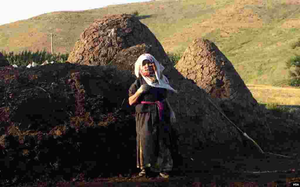 Güllü kəndi - Ərdəbil vilayəti (Şəkil: Çəngiz Güneyli)