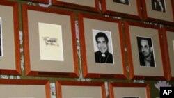 刘晓波做为诺贝尔奖得主的正式黑白照片已挂在诺委会墙上