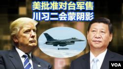 海峡论谈:美批准对台军售 川习二会蒙阴影?