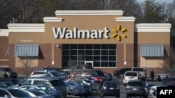 Sebuah toko Walmart terlihat di Landover, Maryland, 31 Desember 2014. (Foto: AFP)