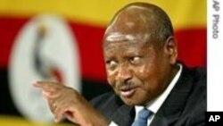 Rais Yoweri Museveni wa Uganda