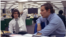 FILE- Reporters Bob Woodward, right, and Carl Bernstein, whose reporting of the Watergate case won them a Pulitzer Prize, sit in the newsroom of The Washington Post in Washington, May 7, 1973.