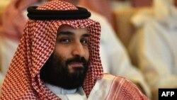 El príncipe heredero saudí, Mohammed bin Salman, en la conferencia sobre inversiones en Riad, el 23 de octubre de 2018.