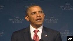 연설하는 오바마 대통령