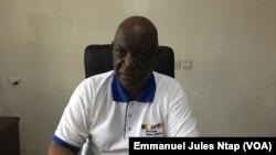 Le directeur général de Prime Potomac Cameroun, Edibi Nkolo, à Yaoundé, 6 juillet 2018. (VOA/Emmanuel Jules Ntap)