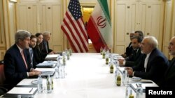 Officials of United States and Iran meet in connection with nuclear negotiations that eased sanctions on Iran.