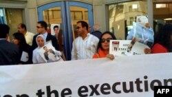 Cuộc biểu tình diễn ra Thứ hai, 10/5/2010, bởi các nhà hoạt động nhân quyền tại Iran