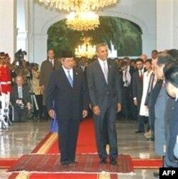 Predsednici Indonezije i SAD u predsedničkoj palati u Džakarti