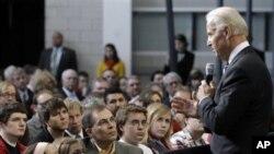拜登副总统在爱奥华州立大学对民众讲话(3月1日)