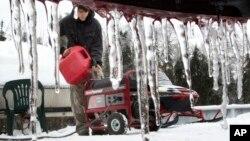 Unas 17 personas han muerto como consecuencia de las tormentas de nieve en Estados Unidos.