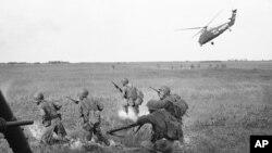 Ước tính có hàng trăm nghìn binh sĩ Hàn Quốc tham chiến cùng Mỹ trong Chiến tranh Việt Nam.