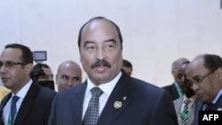 Le président mauritanien Mohamed Ould Abdel Aziz 31 janvier 2014.
