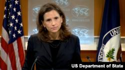 美国国务院新闻办公室主任特鲁多(图片来源:美国国务院)