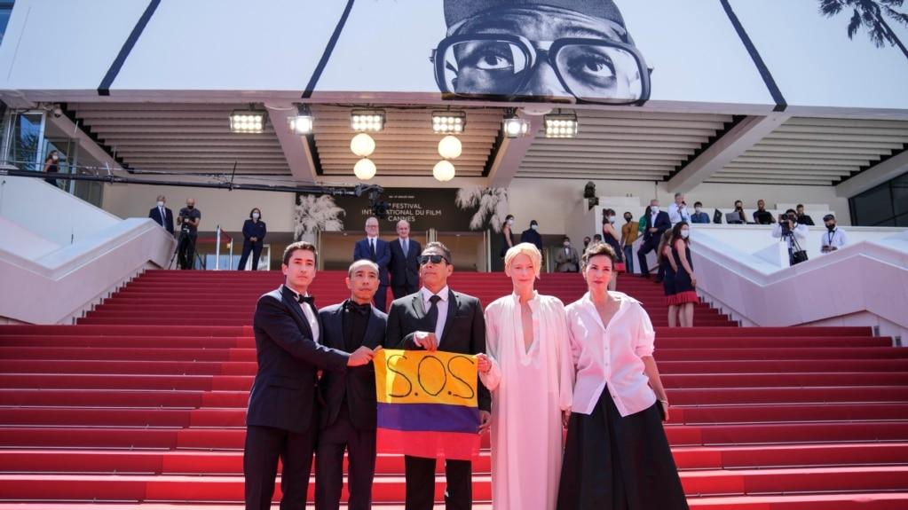 France Cannes 2021 Memoria Red Carpet