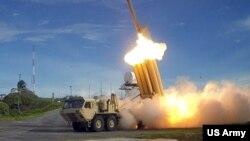Противоракетный комплекс для перехвата ракет средней дальности (THAAD)