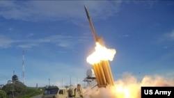 Hệ thống phòng thủ tên lửa tầm cao (THAAD) của Mỹ