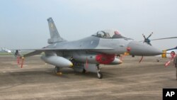 Pesawat tempur F-16 Fighting Falcon produksi perusahaan AS, General Dynamics (foto: dok).