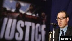 Joel Simon, Direktur Eksekutif CPJ memberikan presentasi (foto: dok). CPJ mengecam kebijakan pemerintahan Obama yang agresif terhadap media.