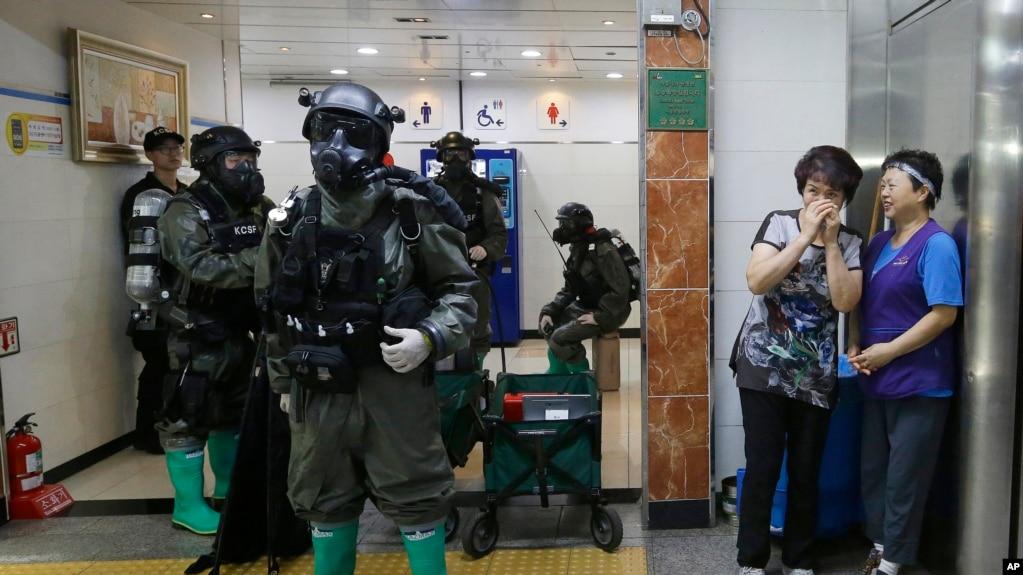 Отработка антитеррористических операций на учениях Ulchi-Freedom Guardian 2015 года