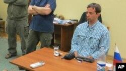 Rajan Fogl u kancelariji ruske Federalne službe bezbednosti, 14. maj 2013.